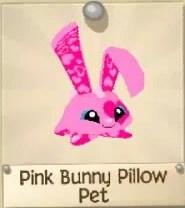 pink bunny pillow pet play wild wiki