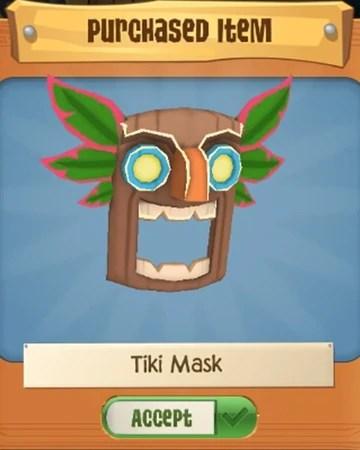 Tiki Mask Aj : Fandom