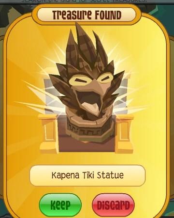 Tiki Mask Aj : Kapena, Statue, Animal, Classic, Fandom