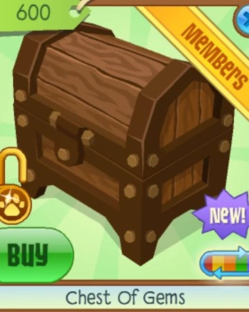 Animal Jam Gems : animal, Chest, Animal, Classic, Fandom