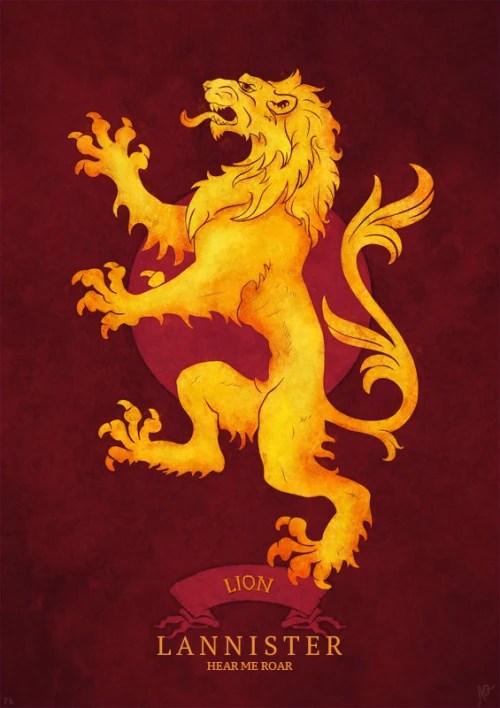 Lannister Logo : lannister, House, Lannister, AWOIAF, Fandom