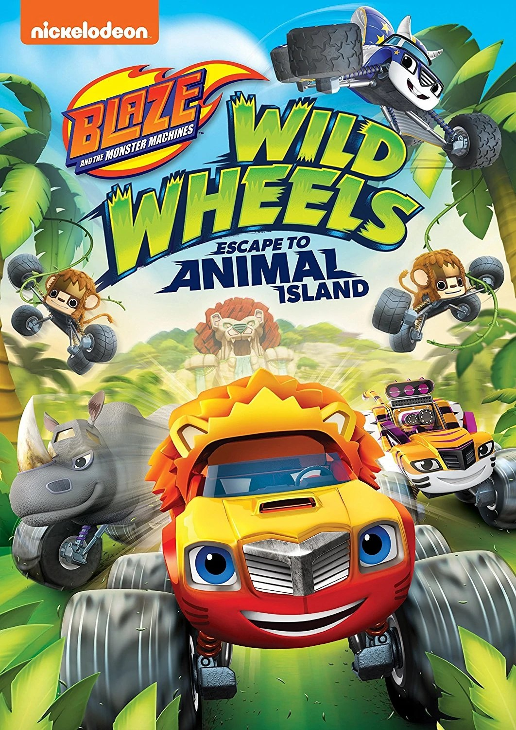 Blaze And The Monster Machines The Big Ant Venture : blaze, monster, machines, venture, Wheels:, Escape, Animal, Island, Blaze, Monster, Machines, Fandom