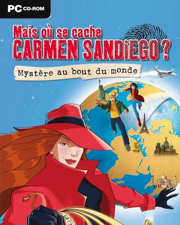 Where in the World is Carmen Sandiego? 3 (2008) - MobyGames