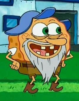 Spongebob Grandpa : spongebob, grandpa, Captain, SquarePants, Wikicartoon, Fandom