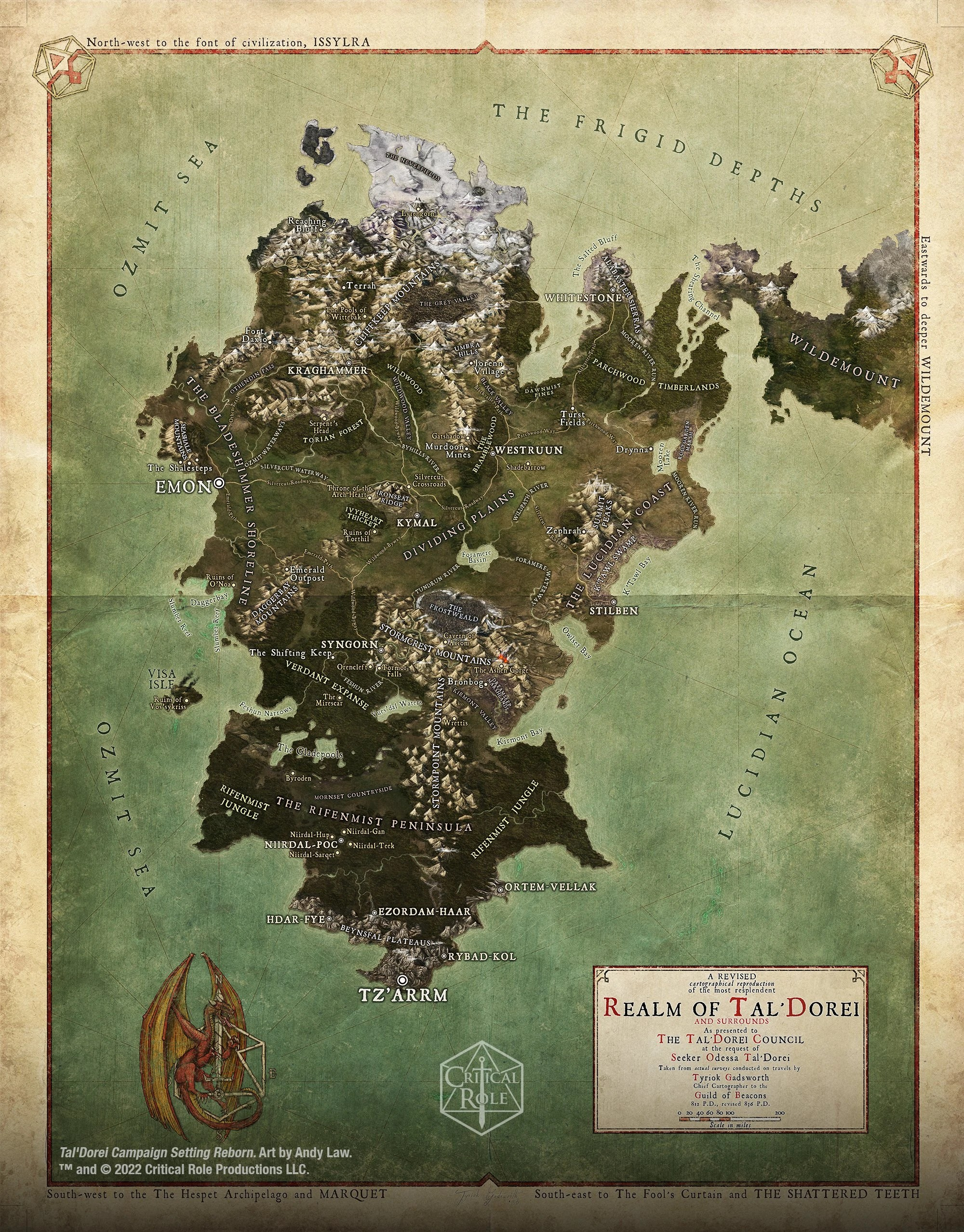 Critical Role Maps : critical, Tal'Dorei, (continent), Critical, Fandom