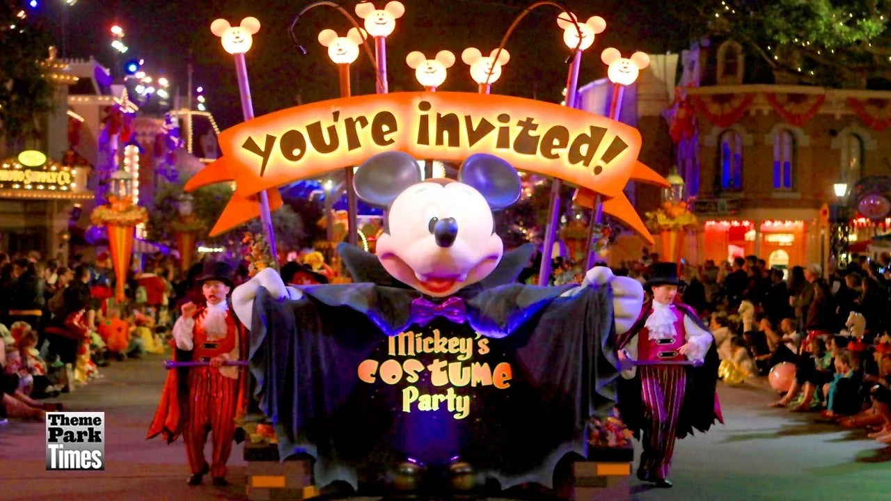 It is similar to mickey's not so scary halloween party of years past but with modifications. Mickey S Costume Party Cavalcade Disney Wiki Fandom