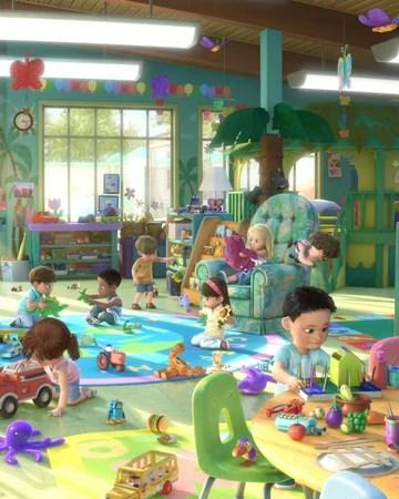 Toy Story 3 Sunnyside Daycare : story, sunnyside, daycare, Butterfly, Disney, Fandom
