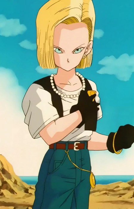 How Can Android 18 Have A Baby : android, Android, Dragon, Fandom