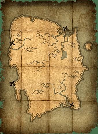 Summerset Treasure Map : summerset, treasure, Treasure, (Skyrim), Elder, Scrolls, Fandom