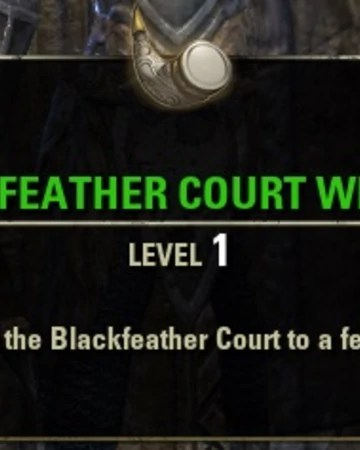 Crow's Wood Eso : crow's, Blackfeather, Court, Whistle, Elder, Scrolls, Fandom