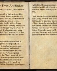 Notes on Elven Architecture Elder Scrolls Fandom