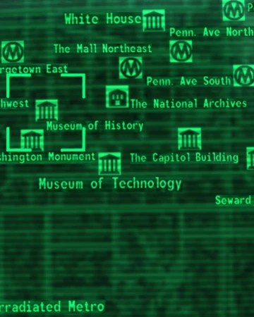 Fallout 3 Location Map : fallout, location, Fallout, Museum, History, Picture