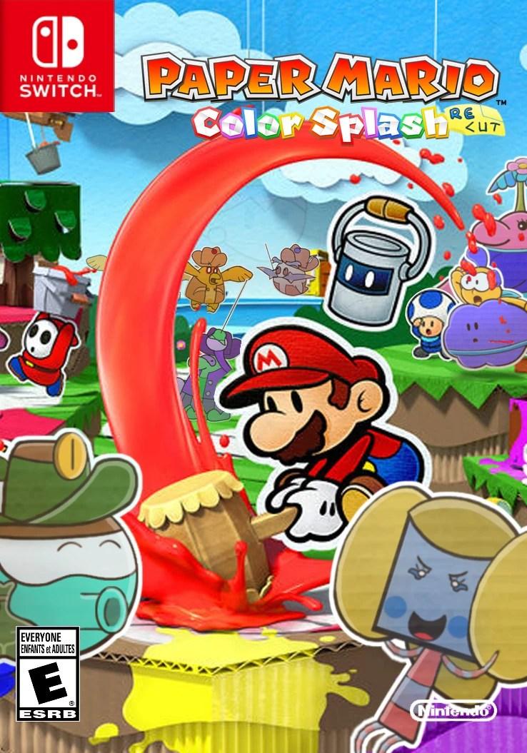 Paper Mario Color Splash Map : paper, mario, color, splash, Paper, Mario:, Color, Splash, RECUT, Fantendo, Ideas, Fandom
