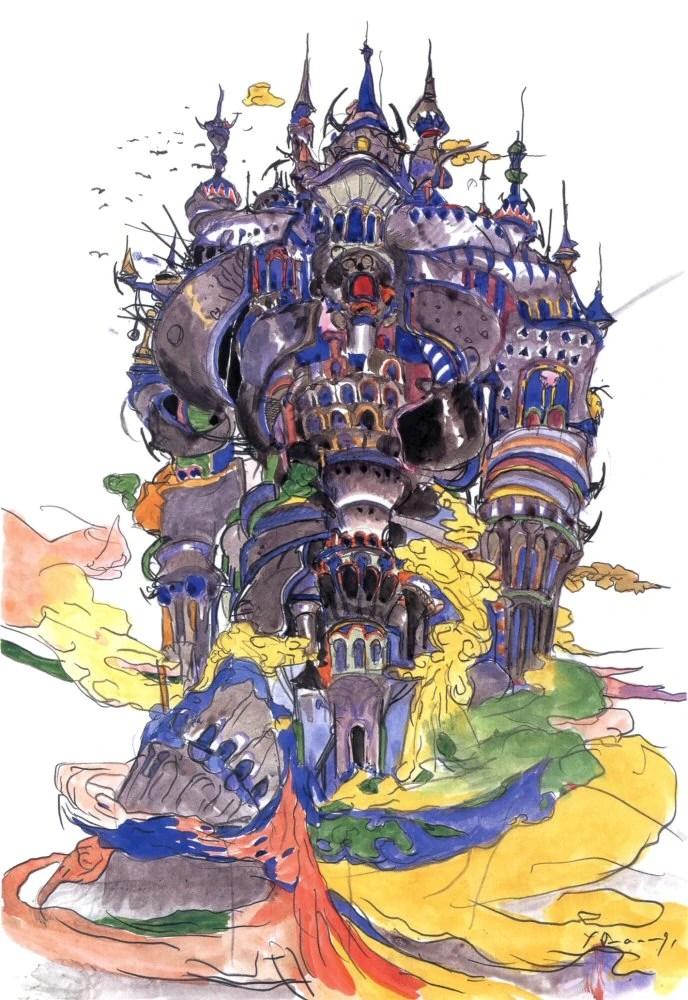 Final Fantasy 4 - Tower Of Babel guitar pro tab