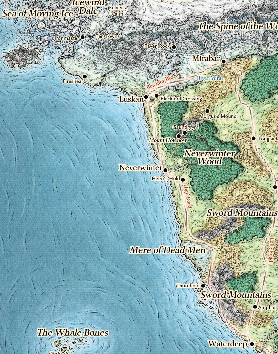 Storm Coast Map : storm, coast, Sword, Coast, North, Forgotten, Realms, Fandom