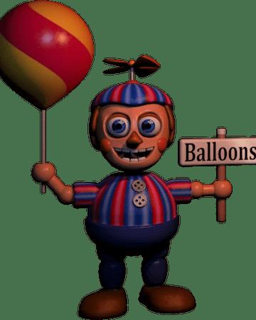 Balloon Boy Laugh : balloon, laugh, Balloon, Nights, Freddy's, Fandom