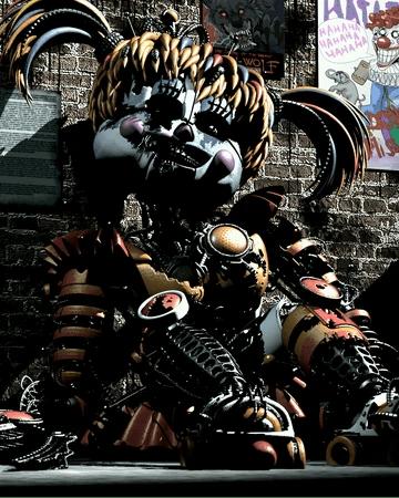 Scrap Baby Endoskeleton : scrap, endoskeleton, Scrap, Freddy, Fazbears, Pizzeria, Simulator, Fandom