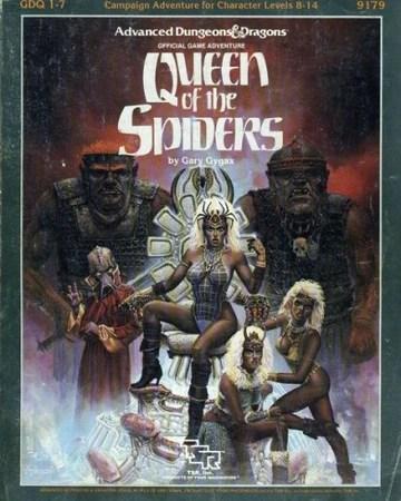 Queen Of The Demonweb Pits : queen, demonweb, Queen, Spiders, Greyhawk, Fandom