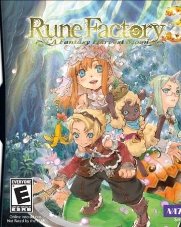 Rune Factory 3: A Fantasy Harvest Moon (USA+UNDUB) DS ROM