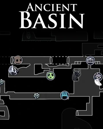 Ancient Basin Map : ancient, basin, Bacia, Antiga, Hollow, Knight, Fandom