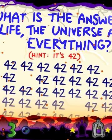 Question 42 Impossible Quiz : question, impossible, Question, Impossible, Book), Fandom