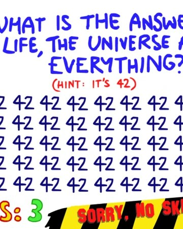 Question 42 Impossible Quiz : question, impossible, Question, Impossible, Quiz), Fandom