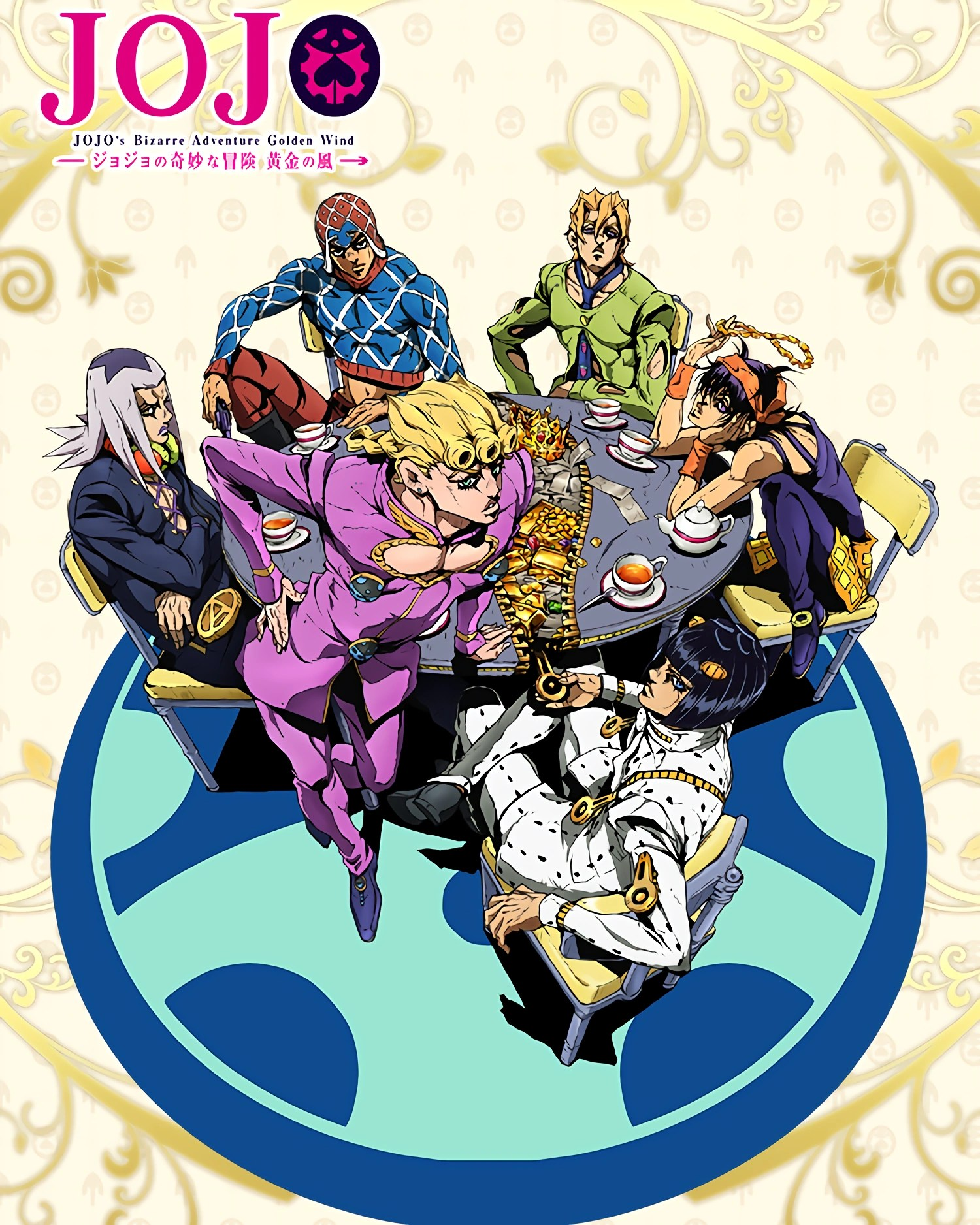 Jojo Bizarre Adventure Golden Wind : bizarre, adventure, golden, JoJo's, Bizarre, Adventure:, Golden, Fandom