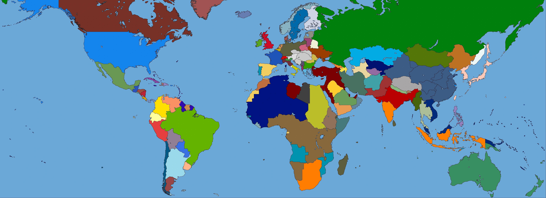 Nations Of The World The Kaiserreich Wiki Fandom