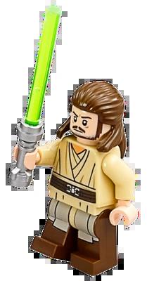 Lego Star Wars Qui Gon Jinn Icon : Qui-Gon, Brickipedia, Fandom
