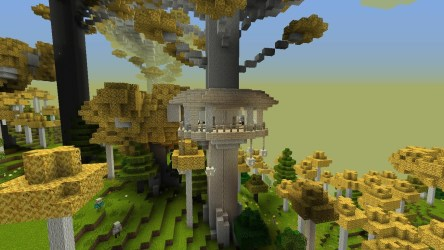 Galadhrim Treehouse The Lord of the Rings Minecraft Mod Wiki Fandom