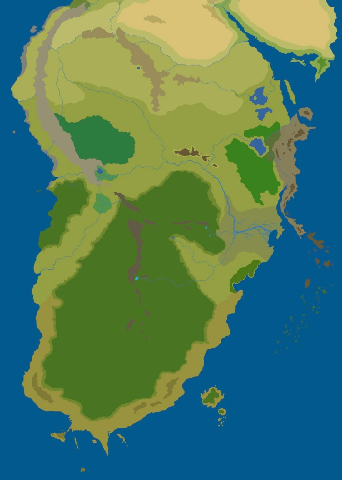 Minecraft Lord Of The Rings Map : minecraft, rings, Harad, Rings, Minecraft, Fandom