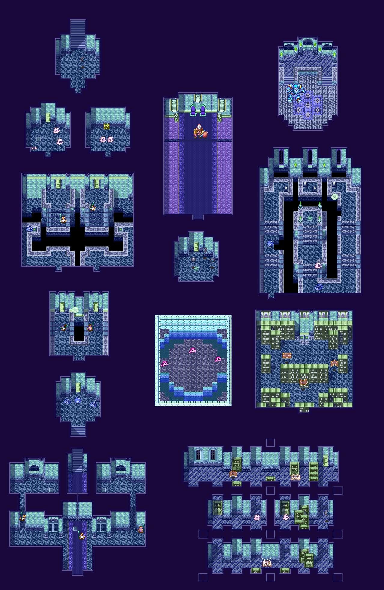 Secret Of Mana Map : secret, Palace, Fandom