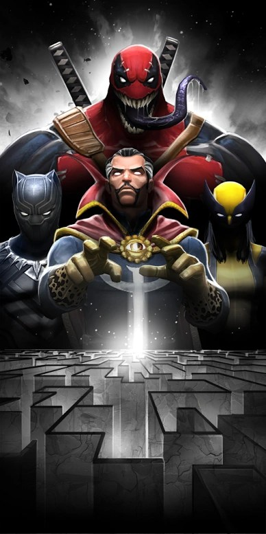 MCoC Labyrinth of Legends - EX. Cyclops (Blue Team) | Видео