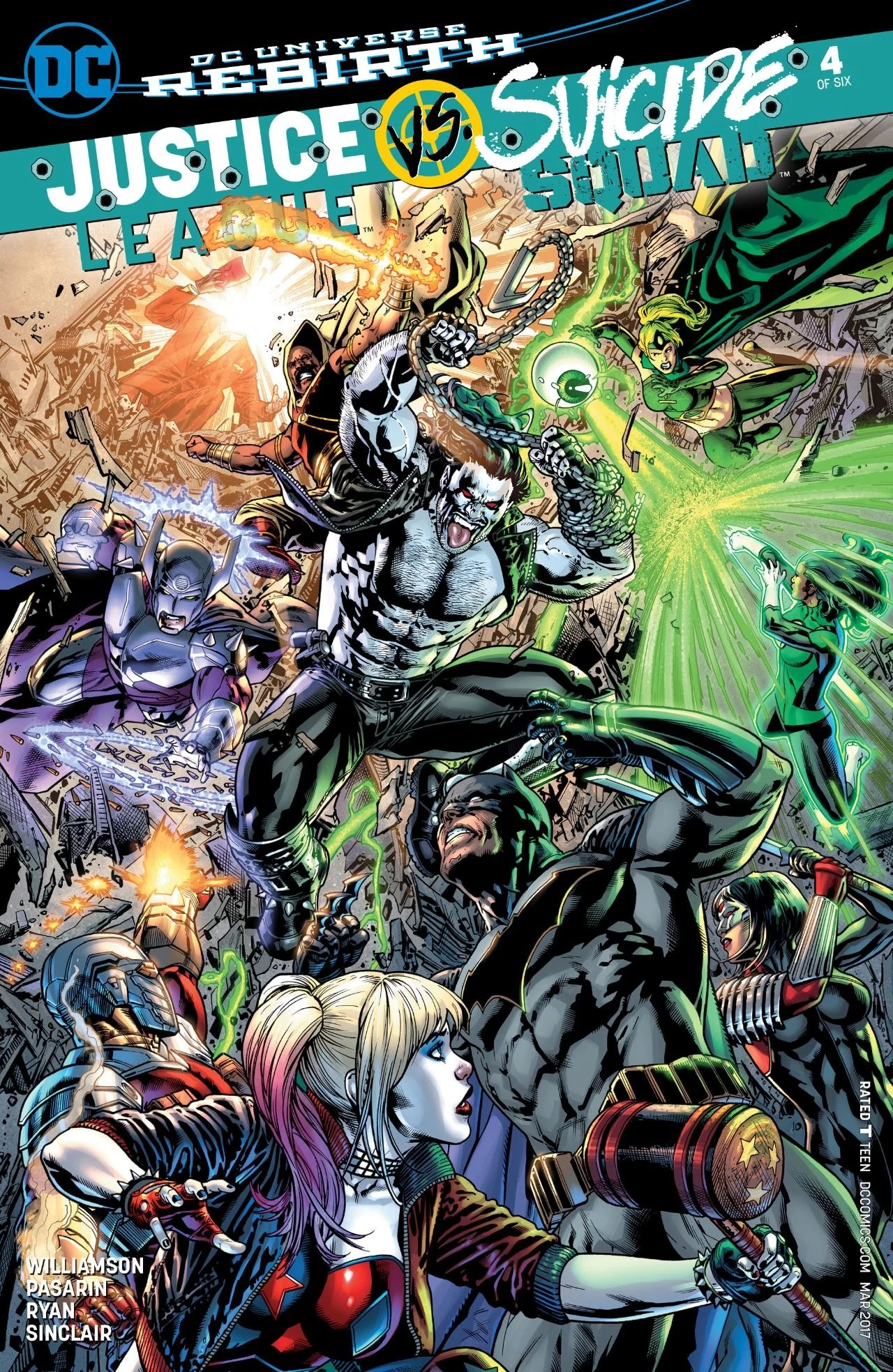 Justice League Vs Suicide Squad : justice, league, suicide, squad, Justice, League, Suicide, Squad, Database, Fandom