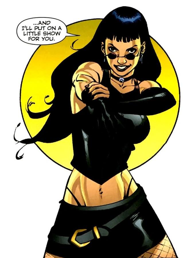 What Is A Black Betty : black, betty, Elizabeth, Rowan, (Wildstorm, Universe), Database, Fandom