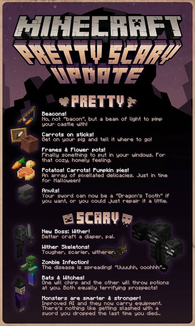 Comment Faire Une Potion De Faiblesse : comment, faire, potion, faiblesse, 1.4.2, Minecraft, Officiel