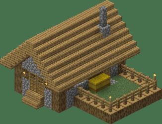 Village/Structure/Blueprints/Plains butcher shop 1 blueprint Official Minecraft Wiki