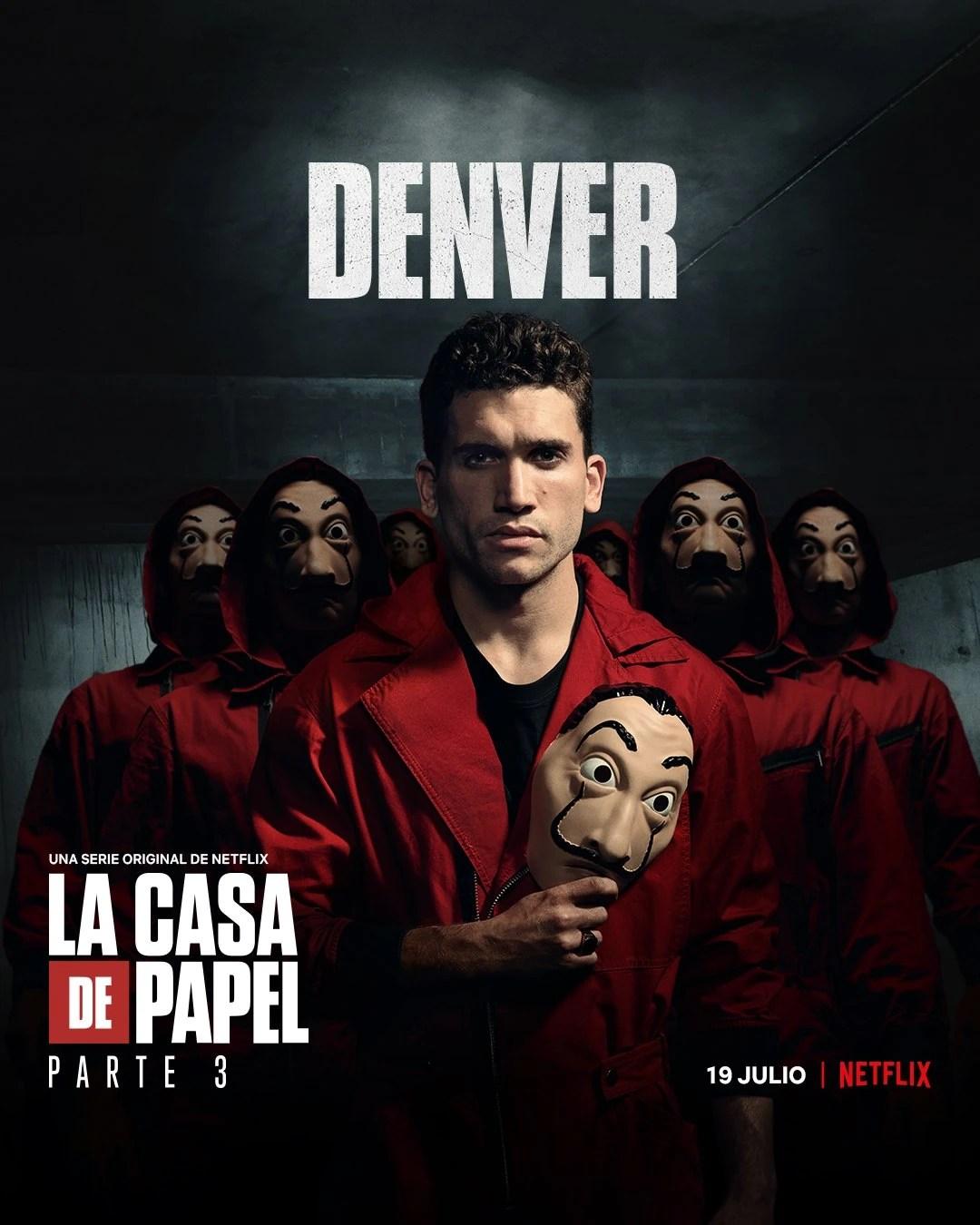 Denver Casa De Papel : denver, papel, Denver, Money, Heist, Fandom