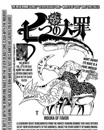 Seven Deadly Sins Indura : seven, deadly, indura, Chapter, Nanatsu, Taizai, Fandom