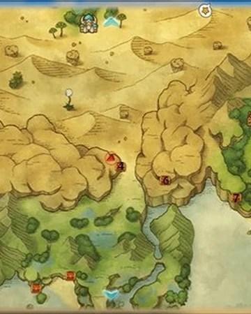 Ni No Kuni Map : Genie's, Steps, Fandom