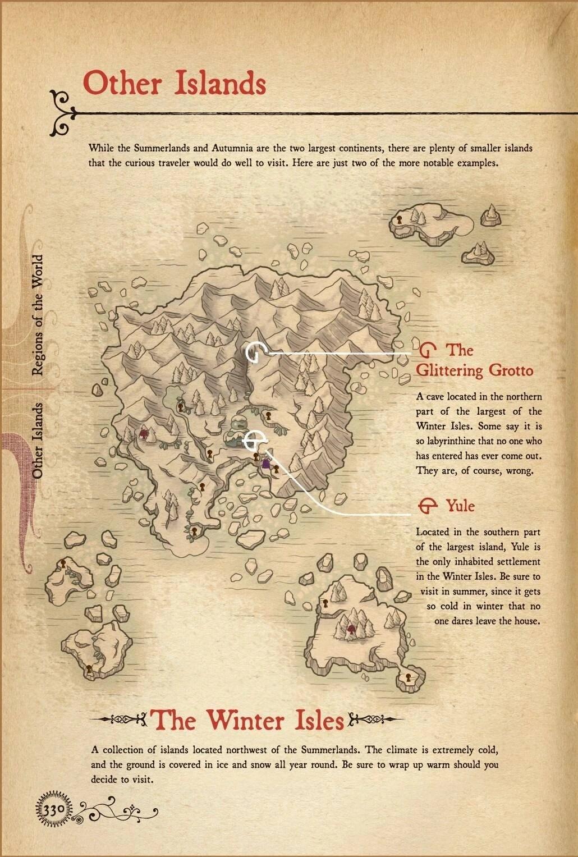 Ni No Kuni Map : Winter, Isles, Fandom