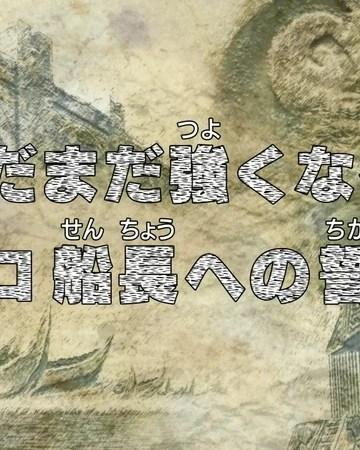 One Piece Episode 515 Sub Indo : piece, episode, Episode, Piece, Fandom