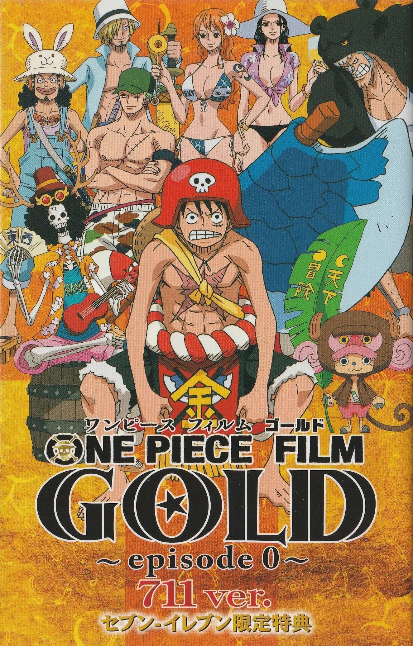 One Piece Gold One Piece : Z : piece, Piece, Film:, Episode, Fandom