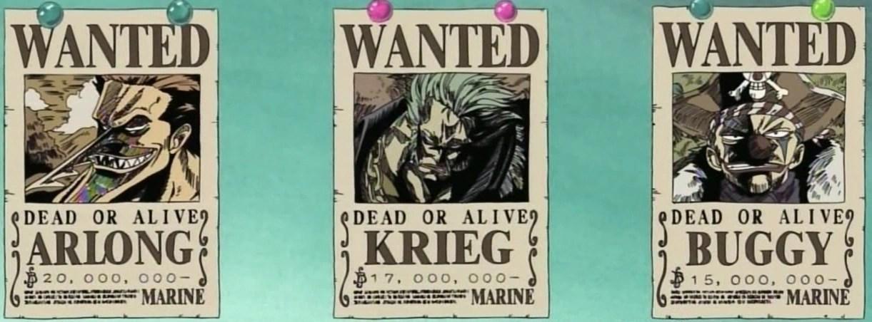 Blackbeard has the lowest bounty among the yonko. Bounties One Piece Wiki Fandom
