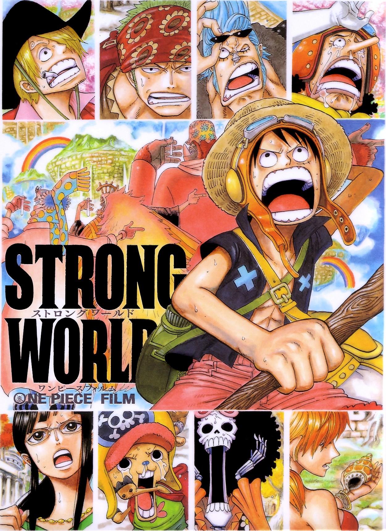 One Piece: Strong World : piece:, strong, world, Piece, Film:, Strong, World, Fandom