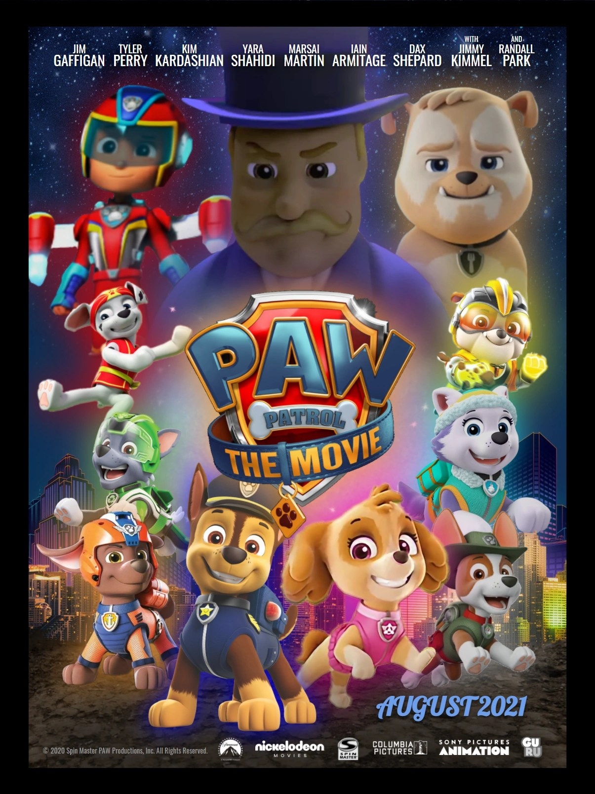 When Does Paw Patrol Movie Come Out : patrol, movie, Patrol:, Movie, (2020, Director's, Patrol, Fanon, Fandom