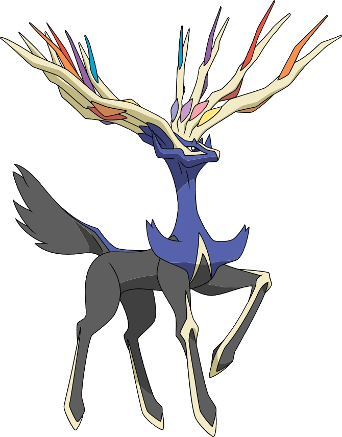 Pokemon With Horn And Tail : pokemon, Xerneas, Pokémon, Fandom