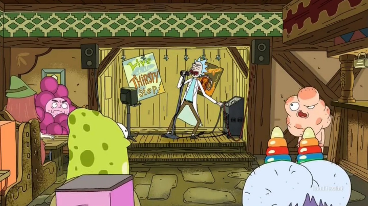 The song is actually mocking southern racists. Sweet Home Alabama Rick And Morty Wiki Fandom