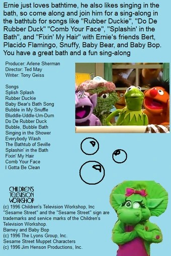 Splish Splash I Was Taking A Bath Song : splish, splash, taking, Disney, Along, Songs:, Splish, Splash, Scratchpad, Fandom