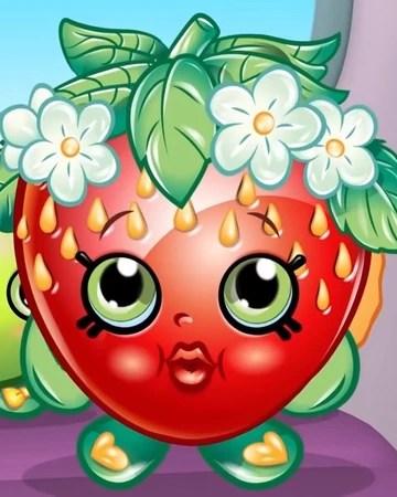Strawberry Kiss Shopkin : strawberry, shopkin, Strawberry, (SSBS), Shopkins, Fiction, Fandom